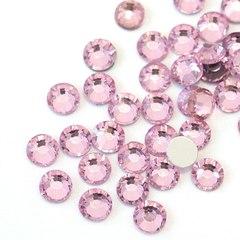 Стразы Swarovski SS3 (1 мм), светло-розовые 50 шт