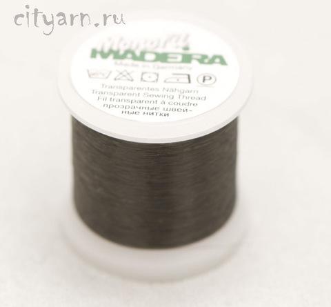 Мононить Madeira Monofil 60, цвет 1000, чёрный, 200 м