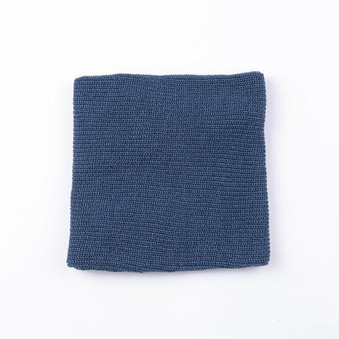 Knitted snood - Denim