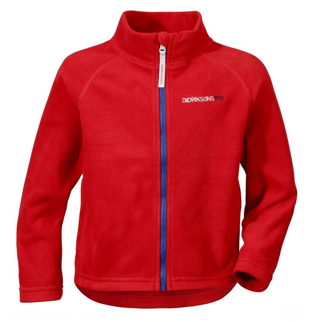 Куртка для детей Didriksons Monte kids - Red (красный)