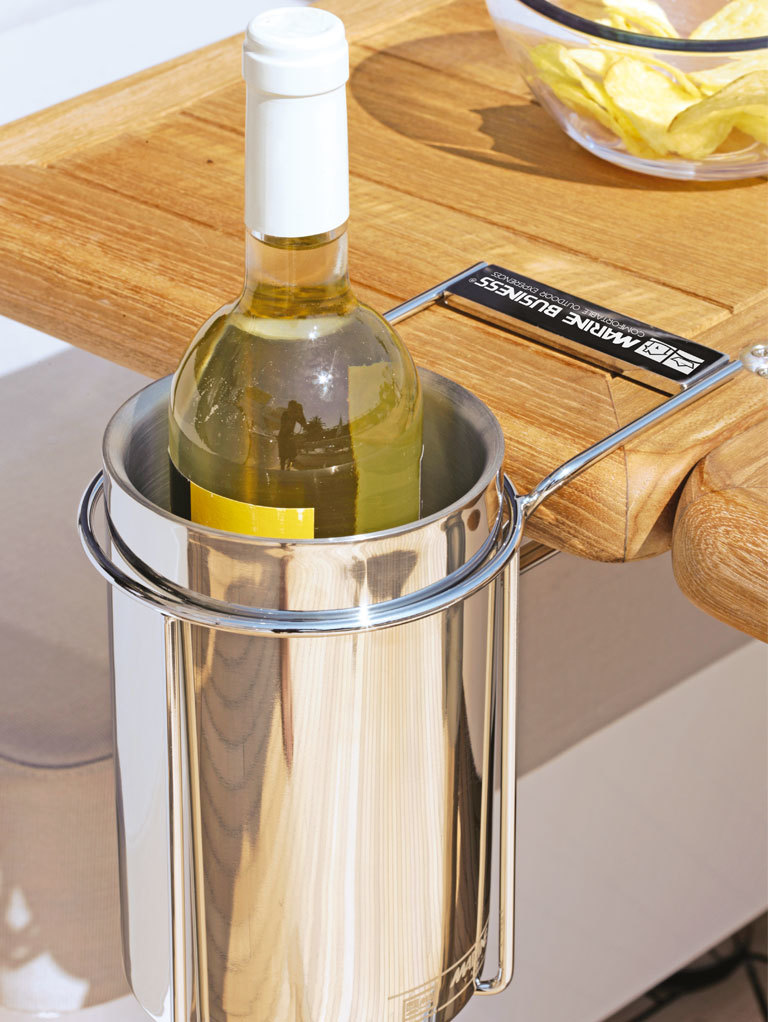 WINE BUCKET (INSULATED) WITH TABLE SUPPORT