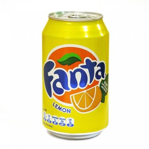 Fanta Lemon Фанта Лимон 0,330 л