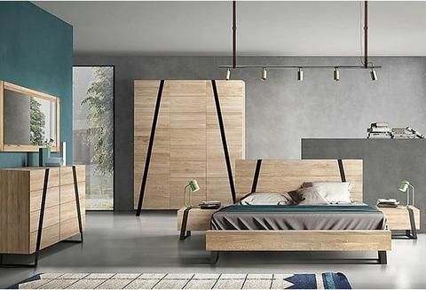 Спальня Рива Модерн 1 (беленый дуб)