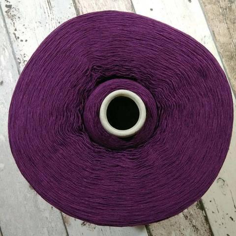 Смесовка с кашемиром и ангорой CASA DEL FILATO 1/15 фиолетовый