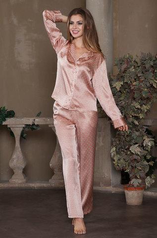 Шелковая пижама Mia-Mia (100% нат.шелк)