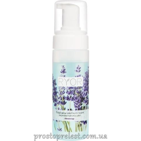 Ryor Aknestop Mousse - Очищаюча піна з морськими водоростями для проблемної шкіри