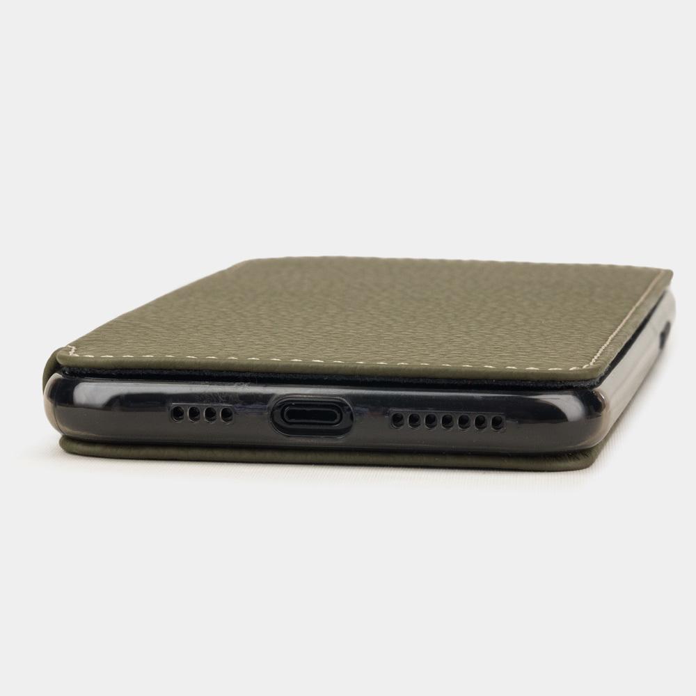 Чехол Benoit для iPhone 11 Pro из натуральной кожи теленка, зеленого цвета
