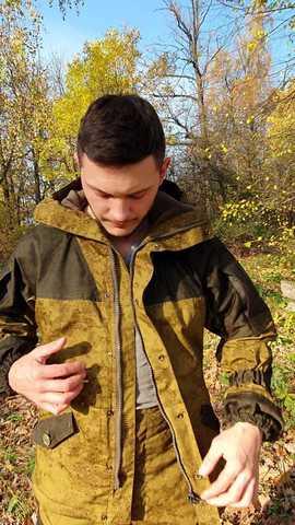 Костюм «Горка-3М Флис» - код-хаки
