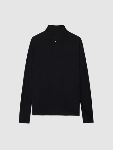 Рубашка мужская Gri Лонг чёрная