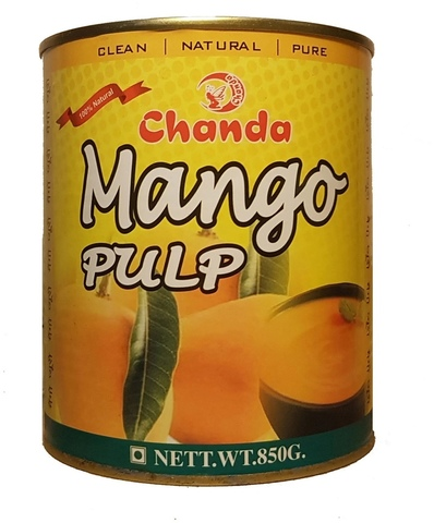 Пюре Манго 100%, 850 г Chanda (Индия)