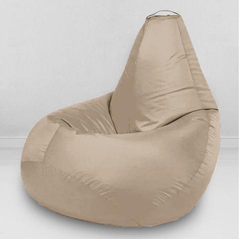 Кресло-мешок «Груша» Бежевый L