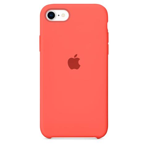 Чехол iPhone 8/7 Silicone Case copy /pink citrus/