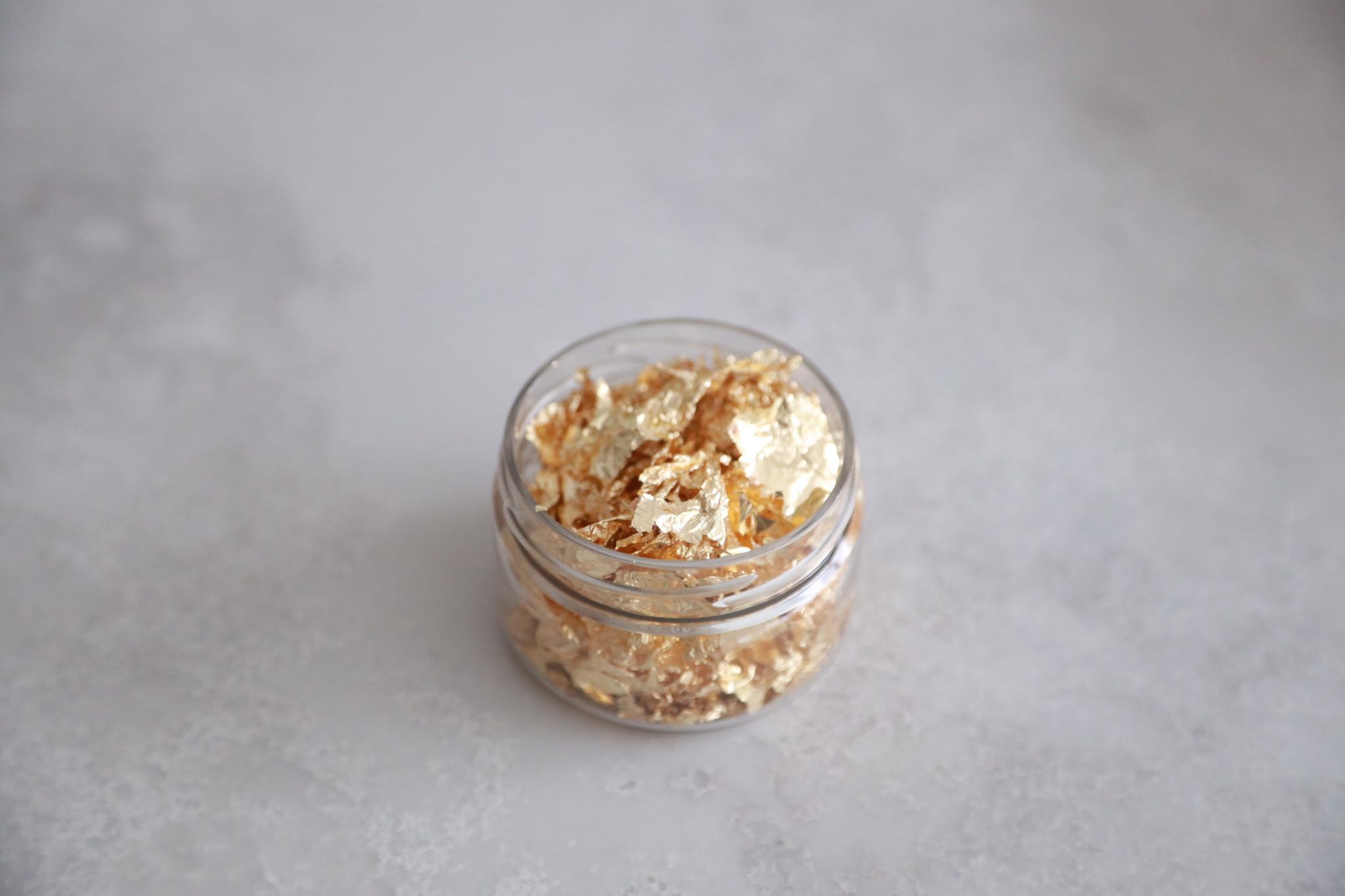 Пищевое золото в хлопьях, 1 гр