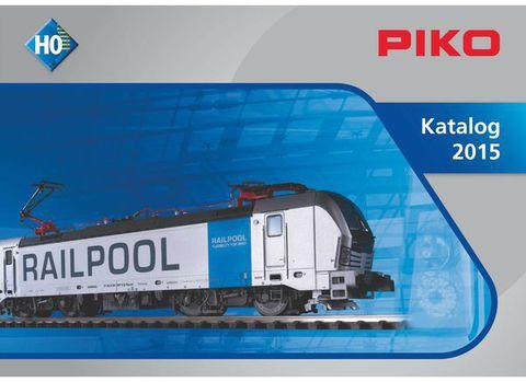 99505 Каталог продукции PIKO 2015 года, масштаб Н0 (на немецком языке)