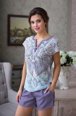 Комплект с короткими шортами Mia-Mia