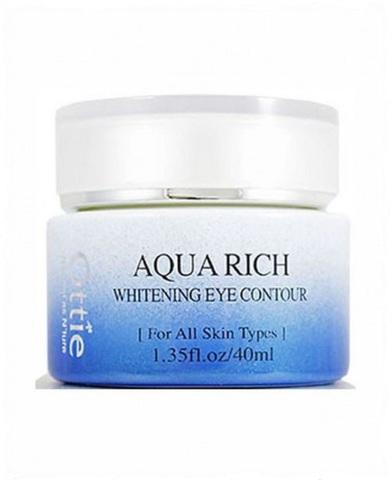 Ottie Aqua rich whitening eye contour осветляющий крем для области вокруг глаз