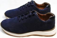 Удобные повседневные кроссовки мужские Faber 1957134-7 Blue