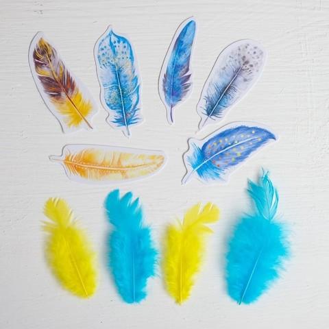 Набор перьев для творчества Сказки перед сном