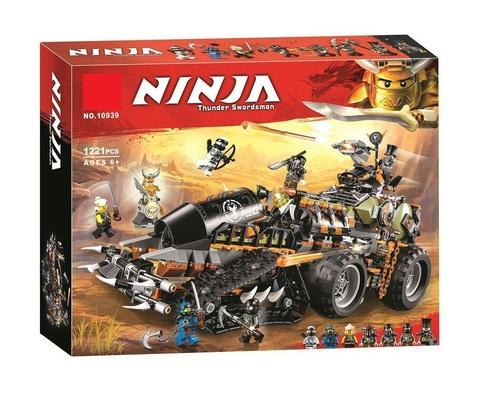 Конструктор Ninja 10939 Стремительный странник