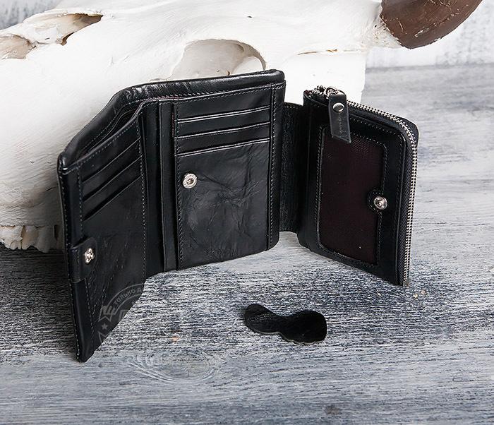 WL280-1 Вместительный мужской кошелек с монетницей фото 07