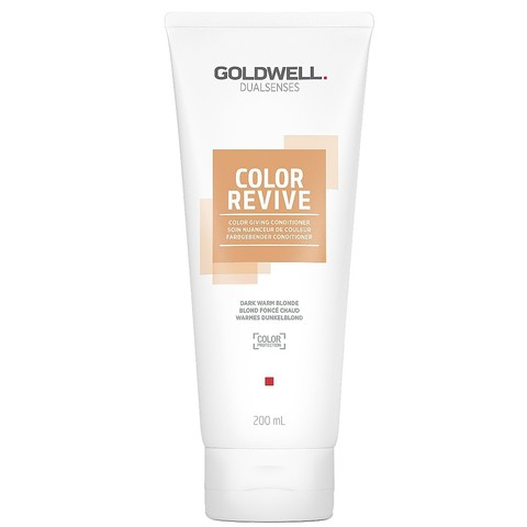 Тонирующий кондиционер, Goldwell Dualsenses Color Revive Conditioner dark warm blonde, 200 мл.