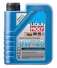 НС-синтетическое моторное масло Leiсhtlauf Energy 0W-40 1л Артикул: 39034