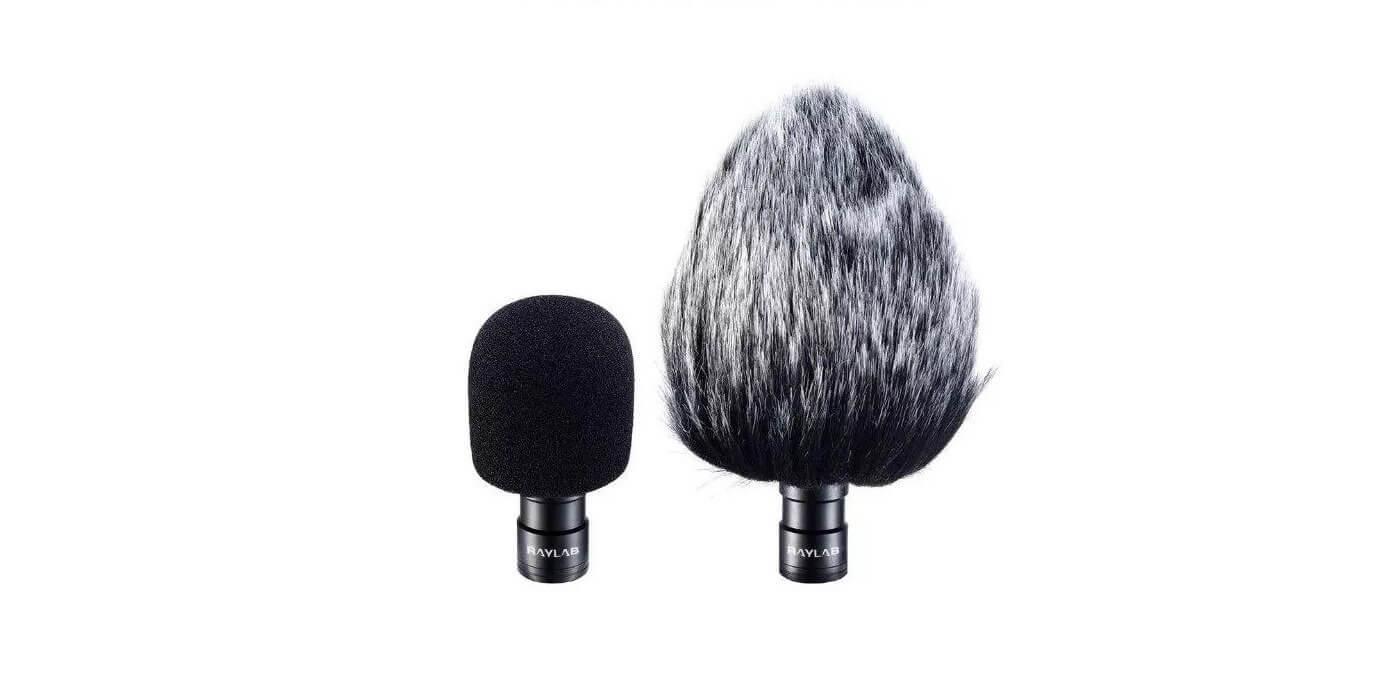 Петличный микрофон Raylab Rec DH LavMic двойной (6м)