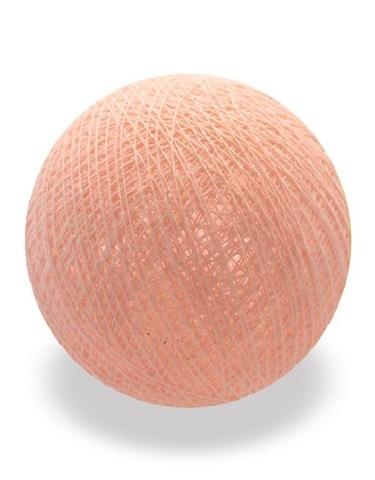 Хлопковый шарик абрикосовый крем