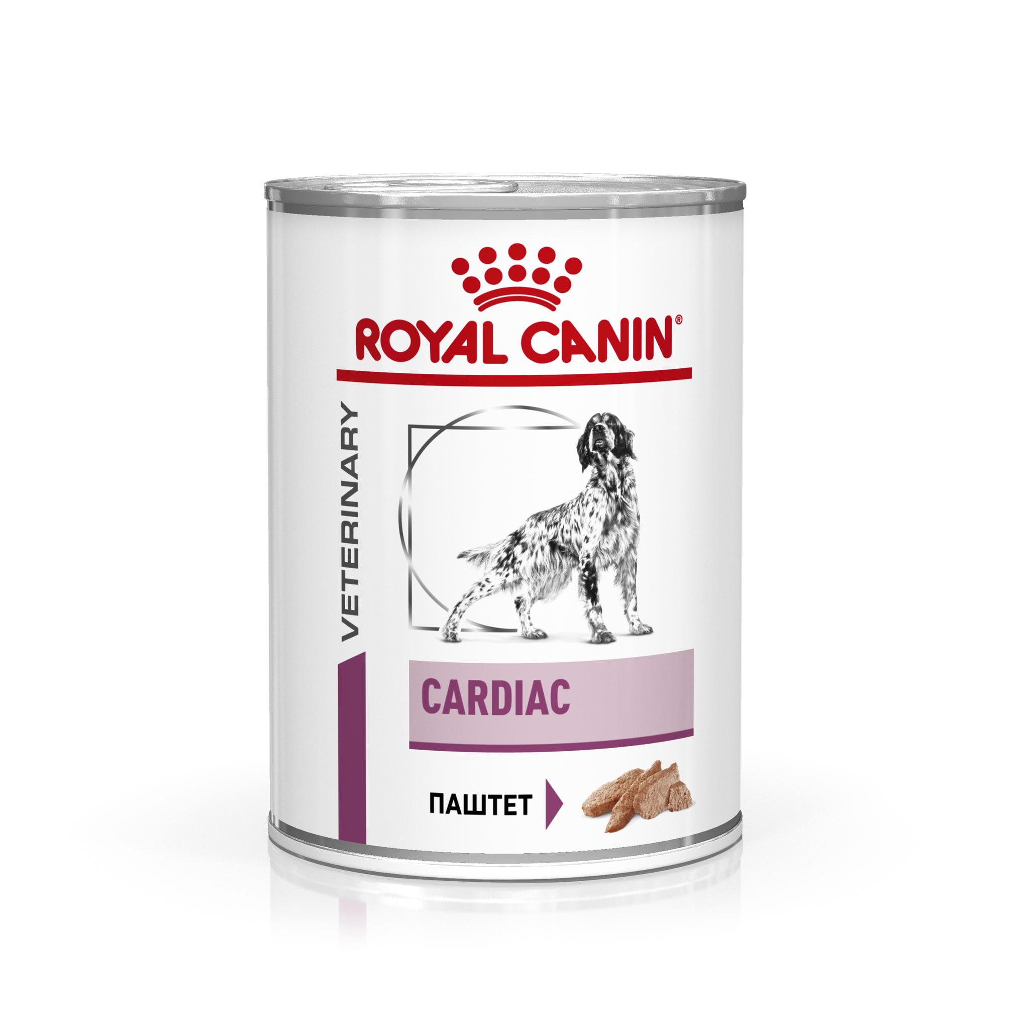 Влажные корма Консервы для собак, Royal Canin Cardiac, с заболеваниями сердца 9003579309407_1.jpg