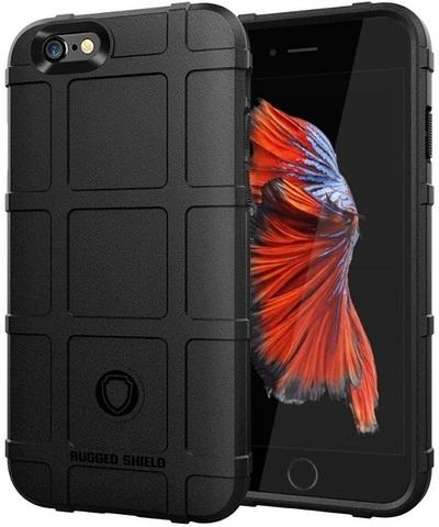 Чехол для iPhone 6 Plus (iPhone 6S Plus) цвет Black (черный), серия Armor от Caseport