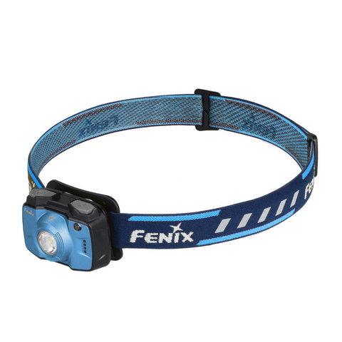 Фонарь светодиодный налобный Fenix HL32R голубой, 600 лм, встроенный аккумулятор