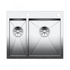 Мойка кухонная 60,5х51 см Blanco Zerox 340/180-IF/A 521642 фото