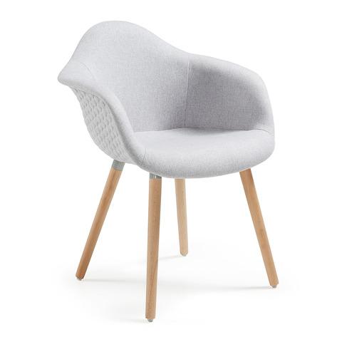 Кресло Kenna светло-серое