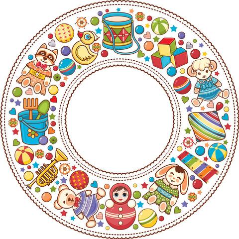 Печать на сахарной бумаге, Детский праздник 1