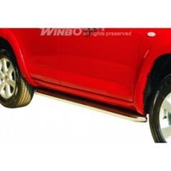 Боковые пороги - трубы Toyota Rav 4 (2006-2012)