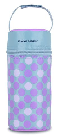 Canpol babies. Термосумка для детских бутылочек Canpol Retro, розовая