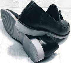 Модние туфли мужские демисезонные Luciano Bellini 91178-E-212 Black.