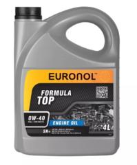 Моторное масло EURONOL TOP FORMULA 0w-40 SN+ 4L 80190