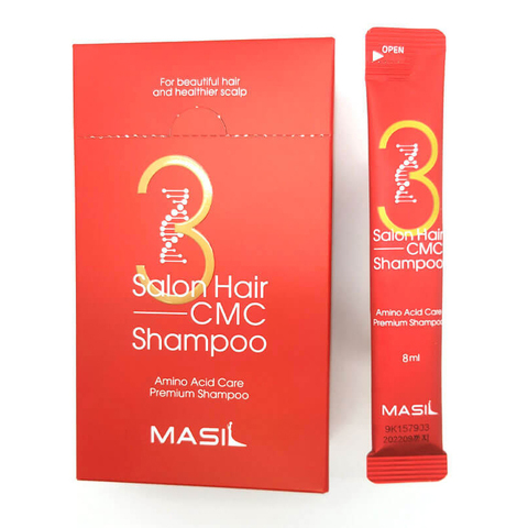 Восстанавливающий профессиональный шампунь Masil 3 Salon Hair CMC Shampoo с керамидами 8 мл