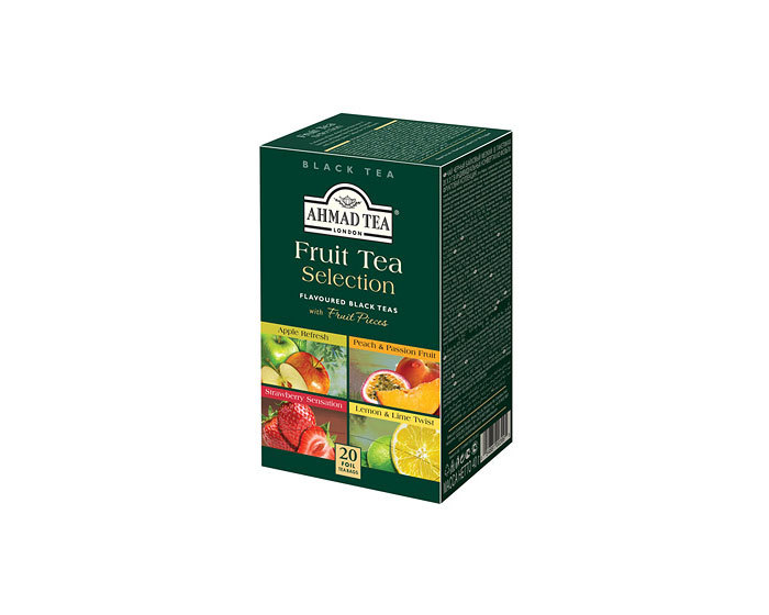 Чай в пакетиках из фольги Ahmad Fruit Tea Selection ассорти, 20 пак/уп