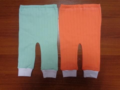 Ползунки -штаны однотонные (интерлок)