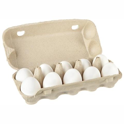 Яйцо куриное С-1 10 шт картон Золотая несушка КАЗАХСТАН