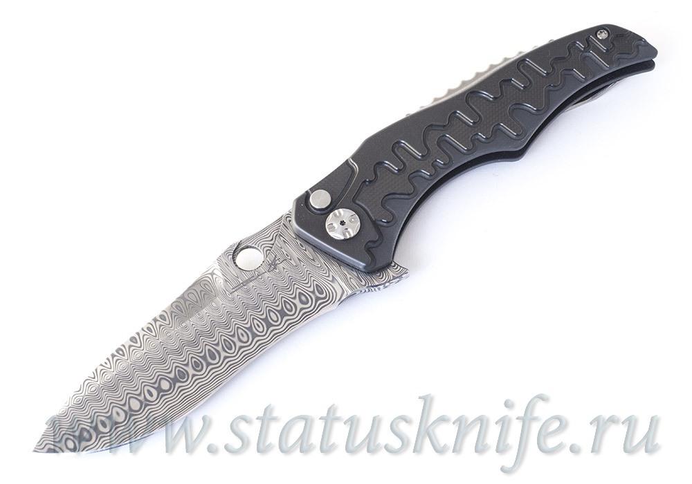 Нож Damasteel Flipper Gray Brian Tighe
