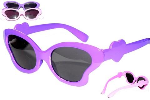 Очки солнцезащитные для девочки (в ассортименте)