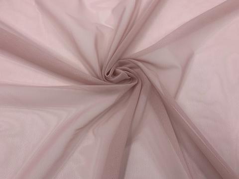 Сетка эластичная пыльно-розовая (метражом)