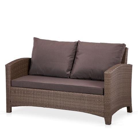 Плетеный диван S58A-W773 Brown