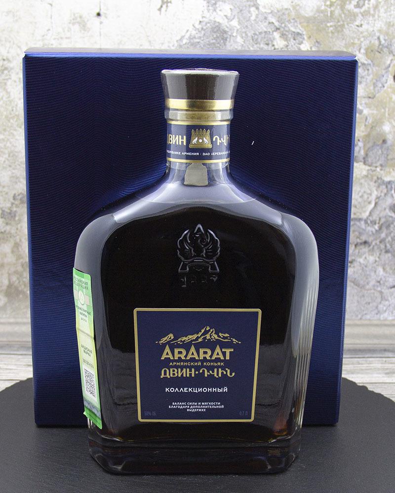 Коньяк Ararat Коллекционный Двин 10 лет 50%, 0,7 л.