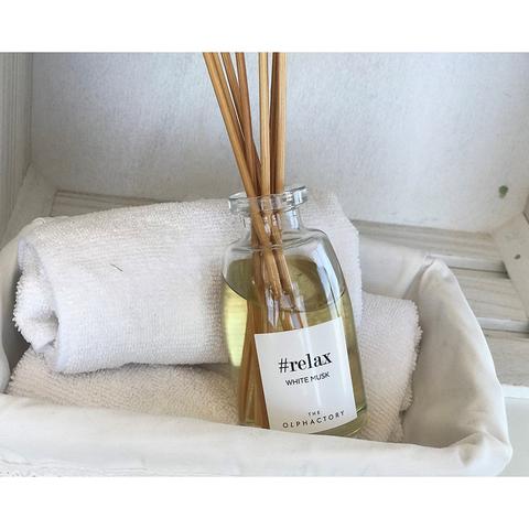 Диффузор ароматический Ambientair, The Olphactory, Relax, Белый мускус, 250 мл