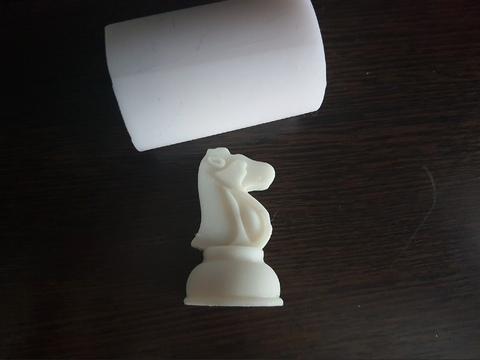 Силиконовый молд Шахматная фигура   № 1  Классика