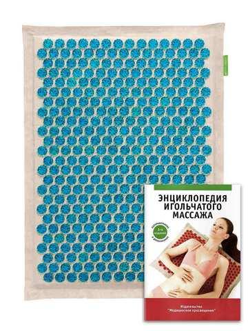 Тибетский аппликатор на мягкой подложке 41х60 см, синий